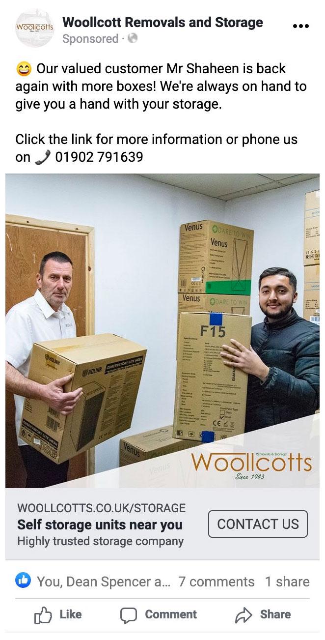 woollcotts facebook